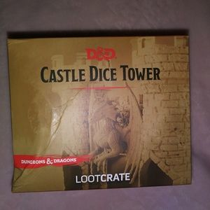 Dungeons & Dragons Dice Tower exclusive Loot Crate